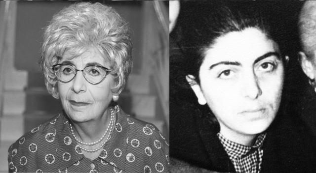 Μαρία Φωκά. Η γνωστή ηθοποιός που καταδικάστηκε σε ισόβια για κατασκοπεία, μαζί με τον Μπελογιάννη. Ήταν η σύζυγος του Λυκούργου Καλλέργη
