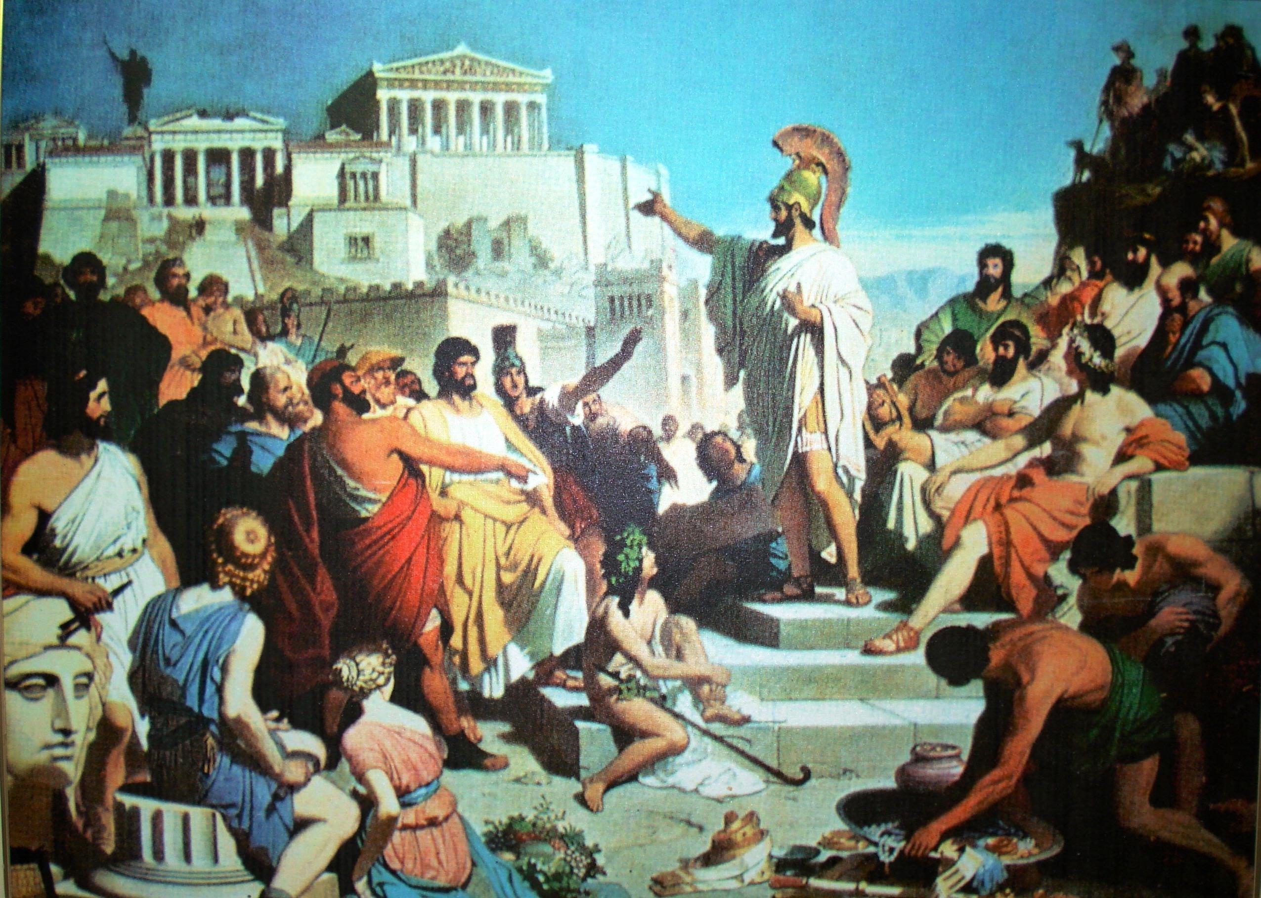 """""""… φιλοσοφούμεν τε γαρ άνευ μαλακίας"""". Τι σημαίνει η φράση του Περικλή που """"αγαπούν"""" οι μαθητές στο μάθημα των αρχαίων και έχουν παρεξηγήσει οι Νεοέλληνες"""