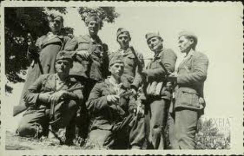 Ανδρες του ΔΣΕ. Παρά την αδιαμφισβήτητη μαχητικότητά τους, το καλοκαίρι του 1949 οι συνθήκες είχαν διαμορφωθεί εις βάρος τους.