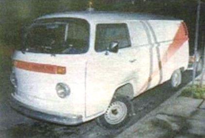 Το φορτηγάκι που χρησιμοποιούσε ο δολοφόνος