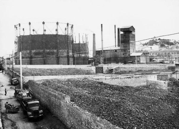 Γκάζι, Οδός Βουτάδων Πιθανότατα δεκαετία 1950.