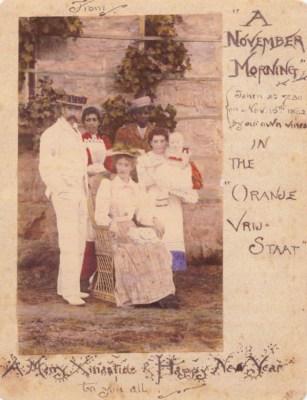 Η οικογένεια Τόλκιν με τους υπηρέτες, 1892