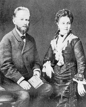 Ο Τσαϊκόφσκι και η σύζυγός του