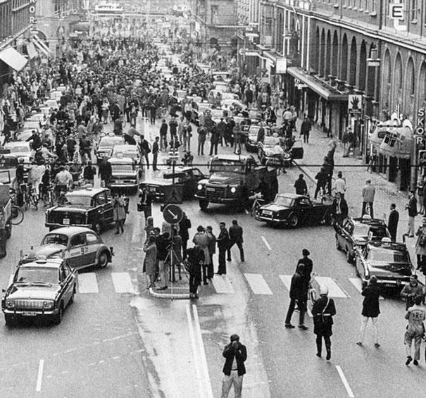 Που οφείλεται το κυκλοφοριακό χάος στη φωτογραφία, που οδήγησε σε 125 τροχαία μέσα σε δύο χρόνια;