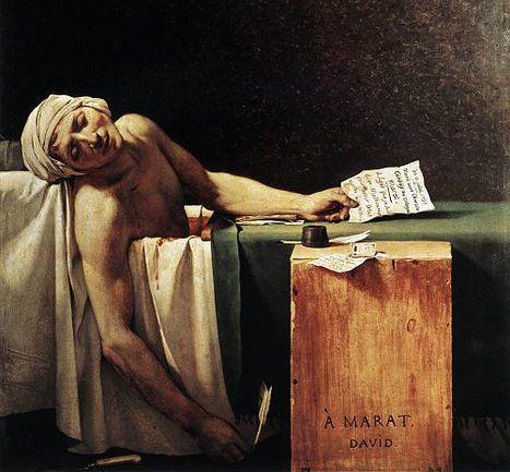 Ο αγαπημένος ζωγράφος της Γαλλικής αυλής, που έστειλε ακόμη και τον Λουδοβίκο στη Γκιλοτίνα. Φανατικός υποστηρικτής της Γαλλικής Επανάστασης ζωγράφισε μερικά μνημειώδη έργα