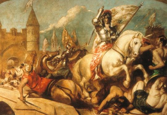 Η Ιωάννα της Λωραίνης οδηγεί τους Γάλλους στη νίκη στην Ορλεάνη