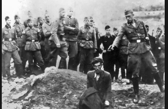 """""""Ο τελευταίος Εβραίος στη Βίνιτσα"""". Το ντοκουμέντο από την εξόντωση 28 χιλιάδων αθώων από τους Ναζί. Πριν εκτελεστούν, έπρεπε να ρίξουν τα πτώματα των συμπατριωτών τους μέσα στους λάκκους"""