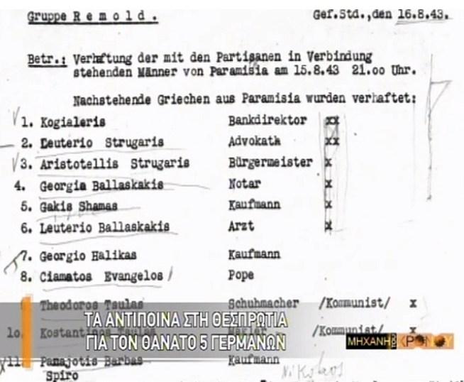 Paramythia lista