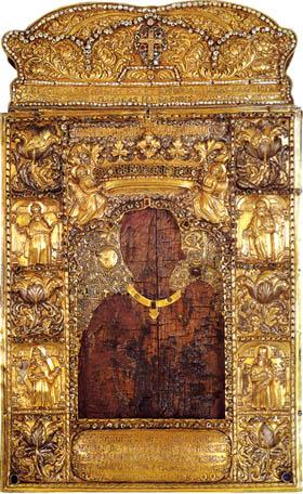 Η ιερή εικόνα της Παναγίας θάφτηκε σε κοντινό παρεκκλήσι