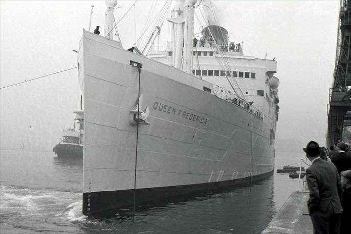 """Ο Ευγενίδης μετονόμασε το πλοίο σε """"Βασίλισσα Φρειδερίκη"""""""