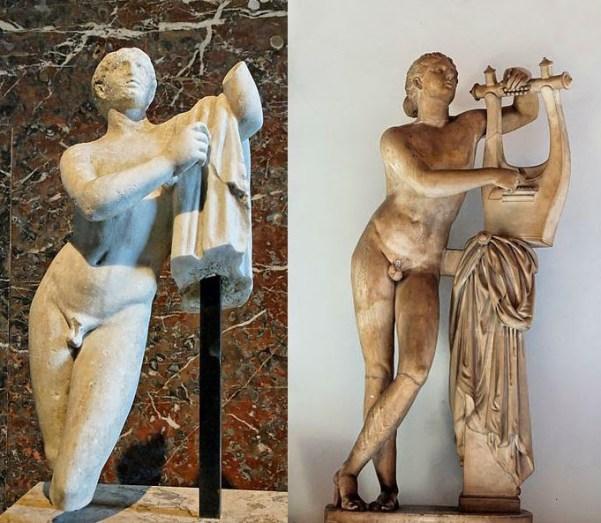 Πόθος. Ρωμαϊκό αντίγραφο στο Λούβρου