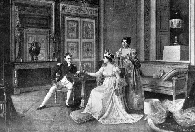 """Η άπιστη σύζυγος του Βοναπάρτη. Είχε πολλούς εραστές και τον χρέωνε με υπέρογκα ποσά. Αποκαλούσε τον Ναπολέοντα """"αστείο"""" και τον τρόμαζε με ψεύτικες λιποθυμίες για να μην την τιμωρεί"""