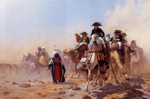 O στρατηγός Βοναπάρτης στην Αίγυπτο