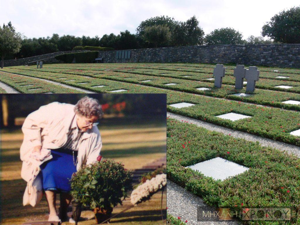 """""""Δεν ξέρω πού είναι θαμμένο το παιδί μου. Ξέρω όμως πως όλα τούτα ήταν τα παιδιά μιας κάποιας μάνας, σαν κι εμένα"""". Η Κρητικιά που άναβε τα καντήλια στους τάφους των Γερμανών στο Μάλεμε, ενώ της σκότωσαν τον άντρα και τον γιο"""
