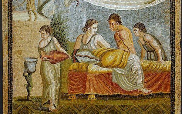 """""""Στιγμιότυπο αγάπης στην αρχαία Ρώμη"""""""