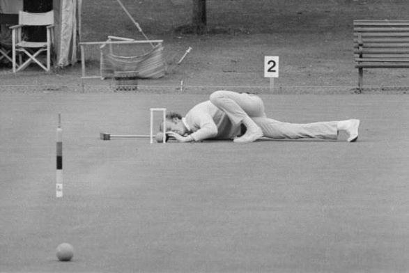 Το Κροκέ ήταν ολυμπιακό αγώνισμα μόνο στη διοργάνωση του Παρισιού το 1900