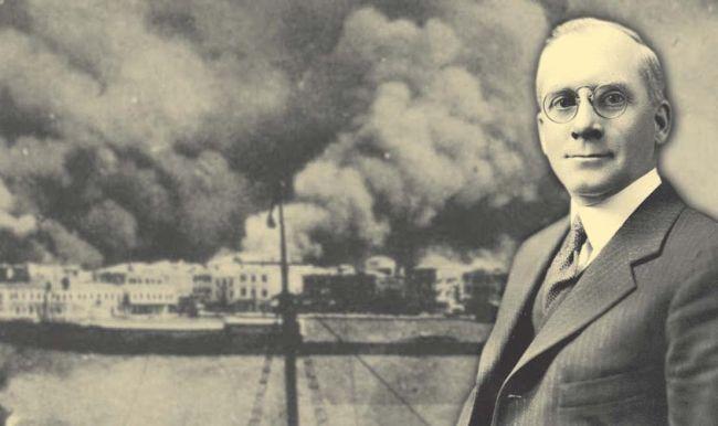 Ο Σίντλερ της Σμύρνης. Ο Αμερικανός που έσωσε τις ζωές 350.000 Ελλήνων στη Μικρασιατική Καταστροφή. Έδωσε την περιουσία του και εκβίασε τις ελληνικές αρχές για να εξασφαλίσει την διάσωση των προσφύγων