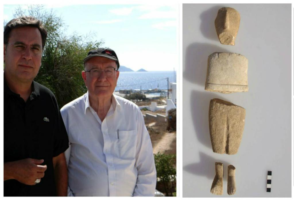 """""""Όταν έφτασα στην Κέρο το 1963, οι αρχαιοκάπηλοι είχαν ήδη σκάψει"""". Ο διάσημος καθηγητής αρχαιολογίας Κόλιν Ρένφριου μιλά για το χαμένο θησαυρό των Κυκλάδων (βίντεο)"""