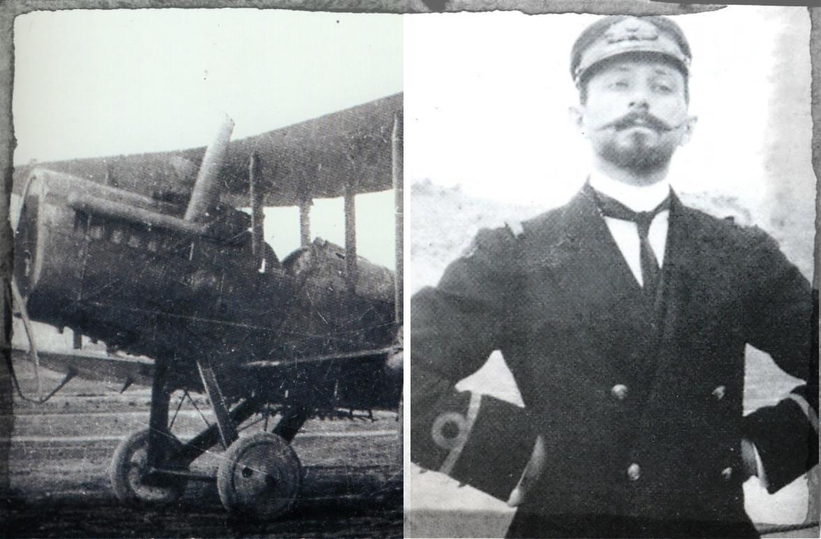 Ο πρωτοπόρος Έλληνας αεροπόρος που έριχνε αυτοσχέδιες βόμβες στους Τούρκους. Ο Α. Μωραϊτίνης που σκοτώθηκε σε πτήση ρουτίνας σε ηλικία 27 ετών.
