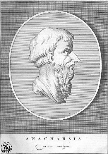 """""""Να συγκρατείς τη γλώσσα, τη λαιμαργία και τη σαρκική ορμή σου"""". Ανάχαρσης, ο """"βάρβαρος"""" σοφός που έζησε στην Αθήνα και είπε πικρές αλήθειες για την πολιτική της ζωή"""