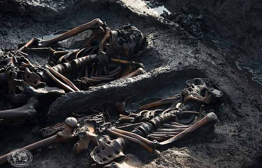 Η αρχαία νεκρόπολη με τους Σκύθες πολεμιστές, που οι Ρώσοι θέλουν να κλωνοποιήσουν. Για να καθησυχάσουν τους ντόπιους έκαναν τελετή για να πάρουν την άδεια των πνευμάτων