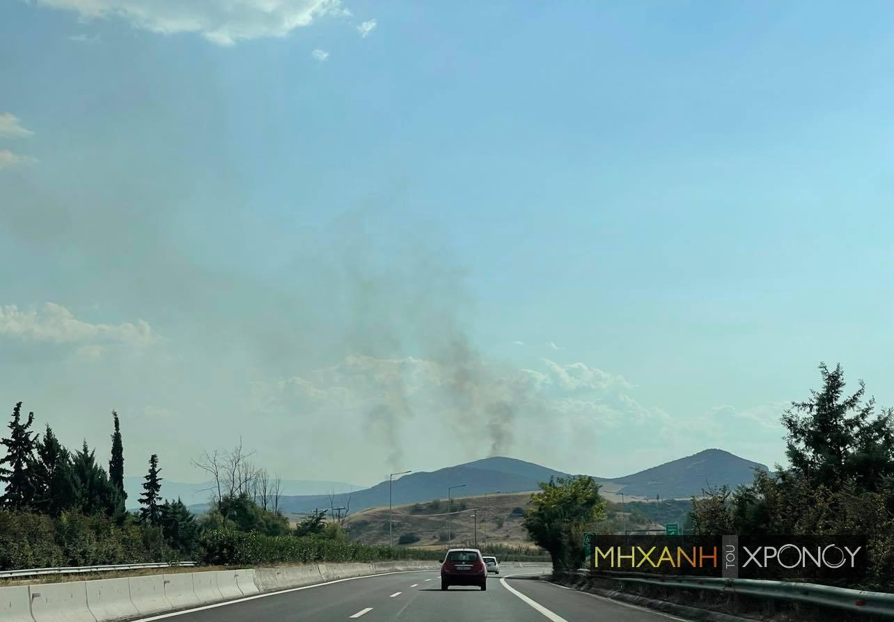 Φωτιά στην Φθιώτιδα. Εκκενώνεται το χωριό Λογγίτσι. 15οχήματα,4 αεροσκάφη κι ένα ελικόπτερο στην επιχείρηση κατάσβεσης