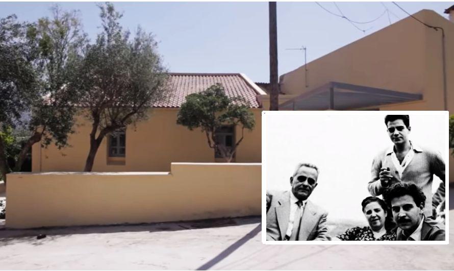 Αυτό είναι το σπίτι των Θεοδωράκηδων, στον Γαλατά Χανίων. Τι έλεγε ο Μίκης για το πατρικό του (βίντεο)