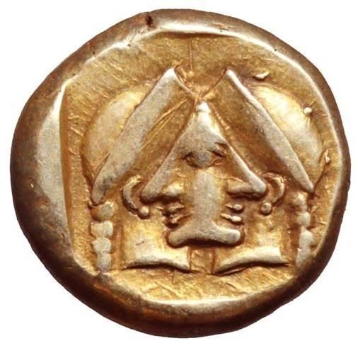 """Το μοναδικό αρχαίο ελληνικό νόμισμα με """"οπτική οφθαλμαπάτη"""". Πού κυκλοφόρησαν οι δύο αντικριστές γυναικείες κεφαλές"""