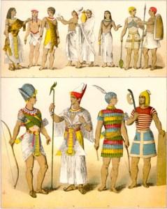 egiptenii .cum se imbracau