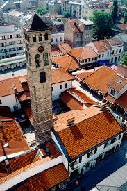 turnul cu ceas din sarajevo