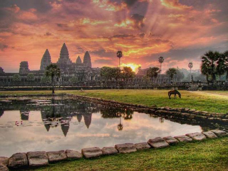 Cambodgia -lacul