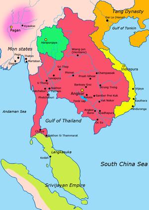 Khmerii si cuceririle lor