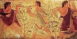 picturi etrusce