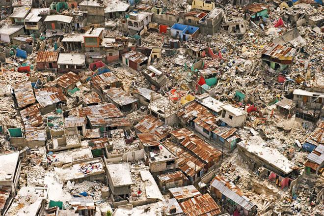 slum-urile din haiti
