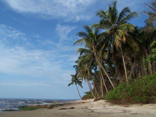 peisaj superb din Guineea Ecuatoriala