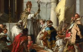 penitenta in fata papei