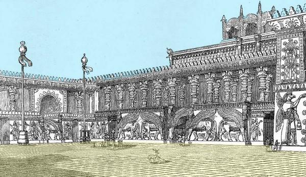 palatul lui sargon