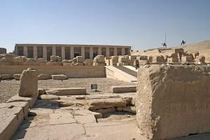 templul de la Abydos si misterele sale