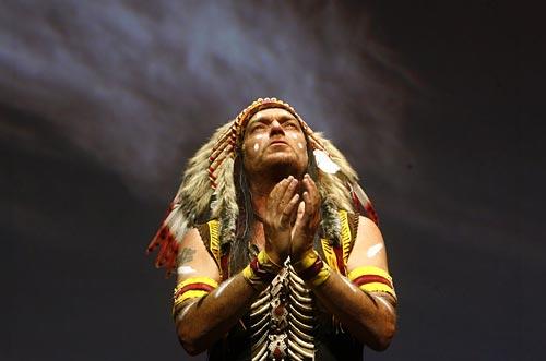manitu -spiritul indienilor din america de nord
