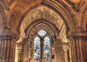 in cautarea sfantului graal-capela-rosslyn