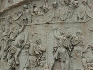 Dacii ataca garnizoanele romane