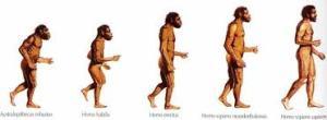 Cateva teorii fanteziste despre evolutia omului