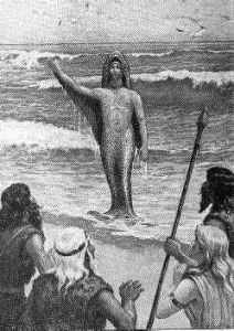 Oannes zeul iesit din mare