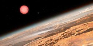 Steaua Trappist-1 are trei planete asemanatoare Pamantului