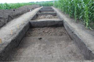 O mega-structura, apartinand Culturii Cucuteni, a fost descoperita la Botosani