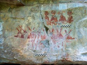 Pictura rupestra descoperita in Mexic