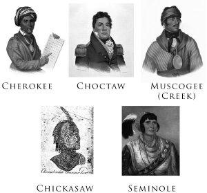 Cele cinci natiuni civilizate