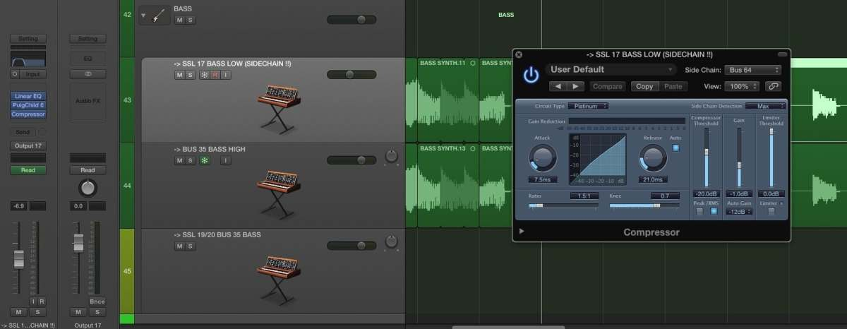 Mixing Kicks: Frequencies, Tones, Tuning & Transients Logic Pro X Sidechain on Bass
