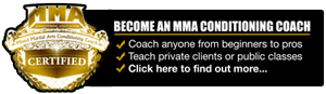 MMA Conditioning Coach Certification