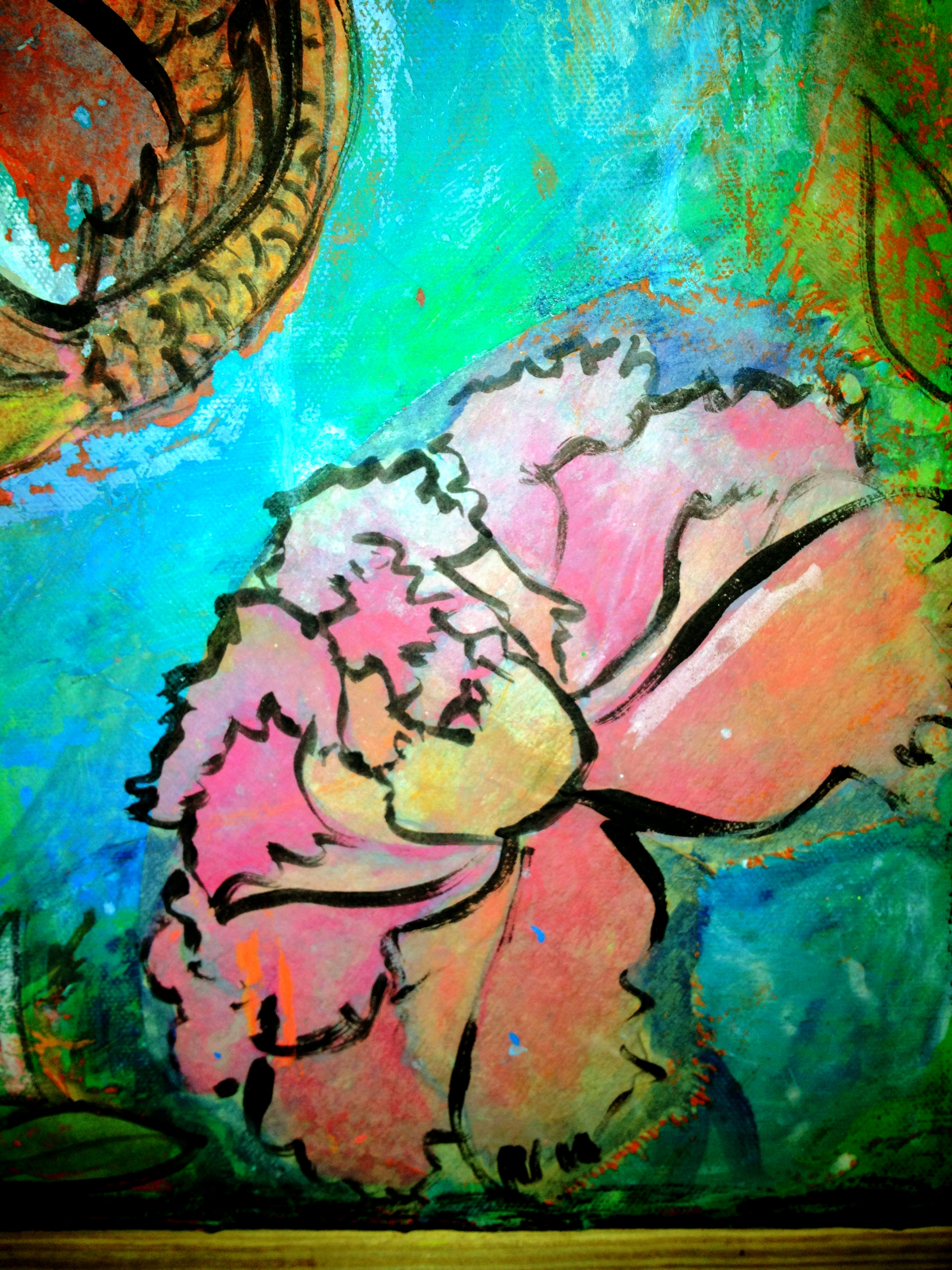 Gloves Off For Mixed Media Painting